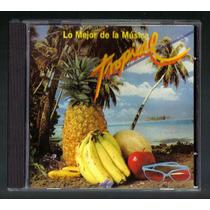 Lo Mejor De La Musica Tropical Cd Rarisimo Unic Ed 1988 Vmj