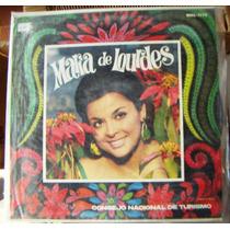 Bolero, María De Lourdes, Voz De México, Lp 12´, Bfn.