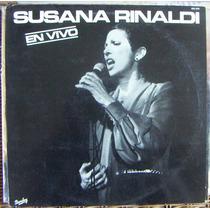 Tango, Susana Rinaldi ( En Vivio ), Lp 12´, Css