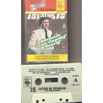 Audio Cassette 15 Exitos De Germain Y Sus Angeles Negros