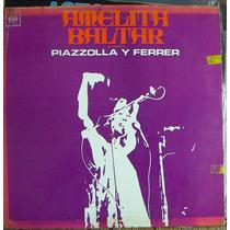 Tango, Astor Piazzolla Y Ferrer Lp 12´, Css.