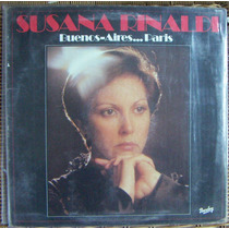 Tango, Susana Rinaldi ( Buenos Aires... Paris ), Lp 12´, Css