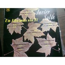 Disco Acetato De Javier Solis Un Año Mas Sin Ti