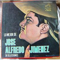 Bolero, Lo Mejor José Alfredo Jiménez, Caja 3 Lps 12´, Hwo