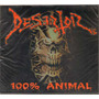 Desertor - 100% Animal ( Punk Hardcore Mexicano ) Cd Rock