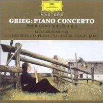 Piano Lilya Zilberstein Grieg Concierto Cd Envio Gratis Lbf