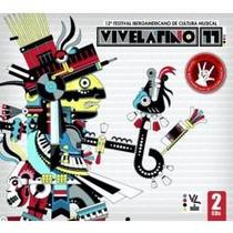 Cd Doble De Varios De Rock:vive Latino 11 2011