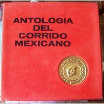 Bolero, Antologia Del Corrido Mexicano, Caja 3 Lps 12´, Hwo.