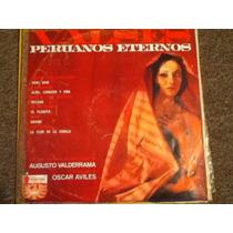 Disco Acetato De: Valses Peruanos Eternos