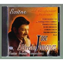 Jose Alfredo Jimenez Cantan Grandes Compositores Cd Raro Idd