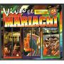 Viva El Mariachi Boxset De 3 Cds Unica Ed 1999 Idd