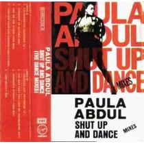 Paula Abdul Shut Up And Dance Mix Cassette Unica Ed 1995 Hwo