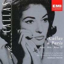 Opera Maria Callas - A Paris - Arias Vol. Ii Cd Import Sp0