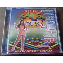 Fiebre De Salsa Por La Noche Vol 2 Cd Unica Ed 2001 Fdp