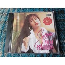 Selena Cd Amor Prohibido Primer Edicion 1994 Con Cancionero