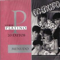 Menudo 20 Exitos Serie Platino Cd Importado Ed 2000 Au1