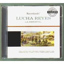 Lucha Reyes La Inmortal Cd 12 Grandes Exitos Unica Ed 1996