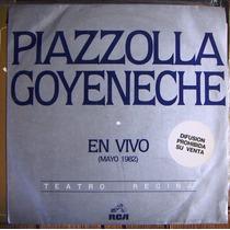 Tango, Astor Piazzolla, Goyeneche(en Vivo Mayo 82) Lp12´,css
