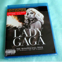 Lady Gaga The Monster Ball Tour (bluray) Limited Edition.