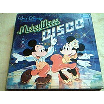 Disco Lp Mickey Mouse Disco - Musica Disco -translucido Rojo