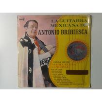 Lp La Guitarra Mexicana De Antonio Bribiesca Mn4