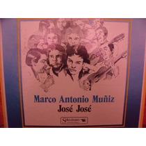 Lp Album Jose Jose, Marco Muñiz 8 Discos... Envio Gratis