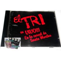 Cd El Tri / En Vivo!! En La Cárcel De Santa Martha!! Mn4