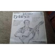 Disco De Acetato De Homenaje A... Antonio Bribiesca