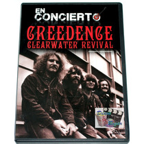 Dvd Creedence Clearwater Revival En Concierto!!! Mn4