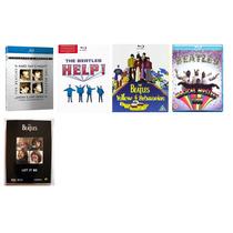 The Beatles Colección De 4 Blu Ray´s Y 1 Dvd Vbf