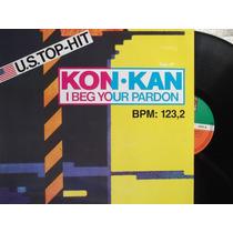 Kon Kan - I Beg Your Pardon - Club Mix- Acetato Aleman