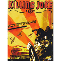 Dvd Original Killing Joke Xxv Gathering Live At Shepherds Uk