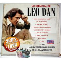 Pack Lo Esencial De Leo Dan 3 Cd´s + Dvd 60 Temas, 20 Videos