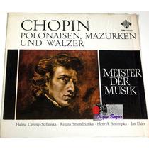 Lp Chopin Polonaisen, Mazurken Und Walzer, Meister Der Musik