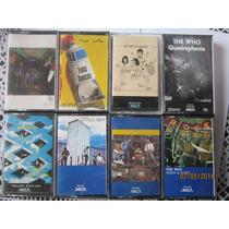 The Who Cassettes Lote De 8 Cassettes Importados / Hm4