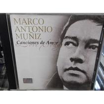 Marco Antonio Muñiz Canciones De Amor Cd