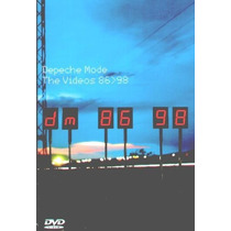 Dvd Original Depeche Mode The Videos 86-98 Never Let Me Down