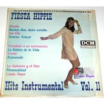 Lp Hits Instrumental Vol Ii / Fiesta Hippie!!! Mn4