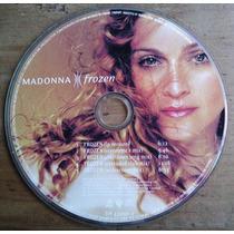 Madonna Frozen Cd Single Picture Mexicano C/5 Versiones Au1