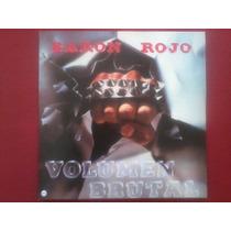 Baron Rojo Volumen Brutal L. P. Vinilo Rojo Tzmetesp Obus