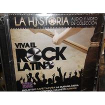 Viva El Rock Latino La Historia Cd + Dvd Sellado