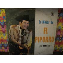 Lalo Gonzalez Piporro Lp Lo Mejor Album 3 Acetatos