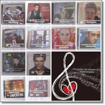 Lote 12 Estuches Cds Música Español Usados / M S I