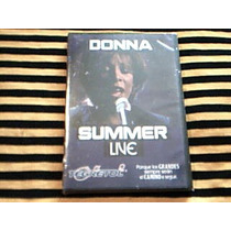Dvd Donna Summer - Live - Manhattan Center 1999 - Nuevo