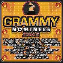 Cd Grammy Nominees 2005. Nuevo Envio Gratis. Spo