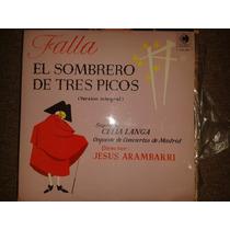 Disco Acetato: Manuel De Falla