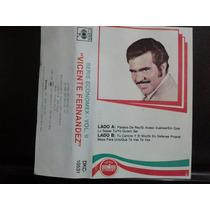Vicente Fernandez Serie Economex Cass Usado 1ra Ed 1990 Usa