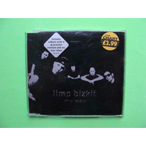 Limp Bizkit - My Way - (cd Single, 2000, Inglaterra)