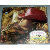 Cd Madonna Music Single Importado Usa Warner Brothers 2000