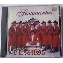 Banda Machos Sentimientos Cd Metro Casa Musical 1994 Bvf